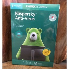 Phần mềm Kaspersky Anti-Virus 2018 - 3 PC/1 Year (KAV3PC)  Full Box