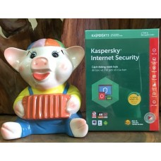 Phần mềm Kaspersky Internet Security 2018 - 1 PC/1 Year (KIS1PC) Full Box