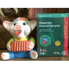 Phần mềm Kaspersky Internet Security 2018 - 3 PC/1 Year (KIS3PC) Full Box