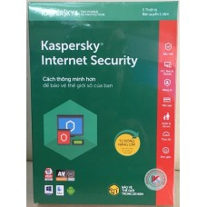 Phần mềm Kaspersky Internet Security 2018 5 PC/1 Year (KIS5PC) Full Box