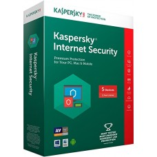 Kaspersky Internet Security 2018 5 PC/1 Year (KIS5PC) Full Box