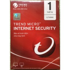 Phần mềm diệt virus Trend Micro Internet Security 01 PC